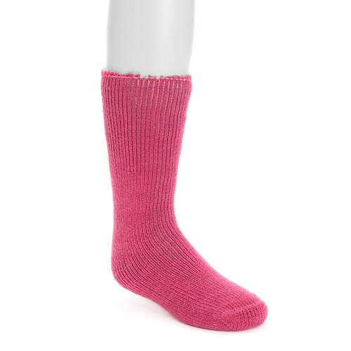 MUK LUKS Girls' 1 Pair Heat-Retainer Thermal Socks