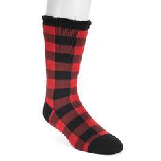 MUK LUKS Men's 1 Pair Heat-Retainer Thermal Socks