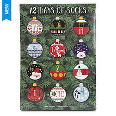 MUK LUKS Women's 12 Days of Socks