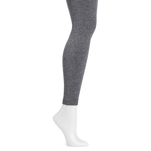 MUK LUKS Women's Marl Fleece Lined Leggings
