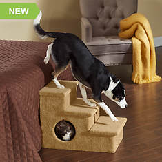 Large Pet Steps With Hideaway