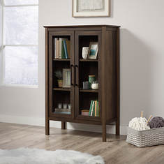 Sauder Anda Norr Storage Display Cabinet