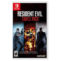Nintendo SWITCH Resident Evil Triple Pack