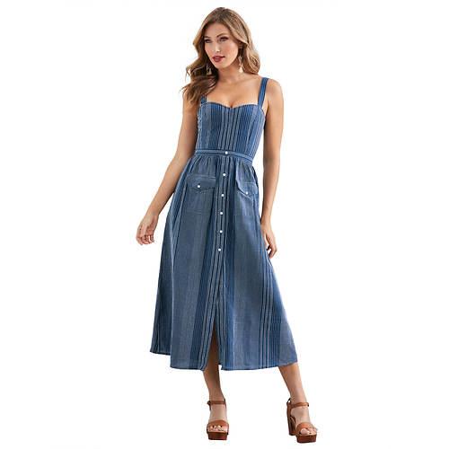 Button-Down Pocket Dress