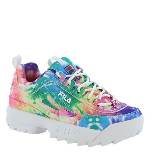 Fila Disruptor II Tie Dye PS (Girls' Toddler-Youth)