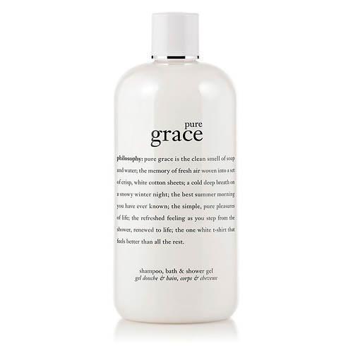 Pure Grace Shampoo, Bath and Shower Gel