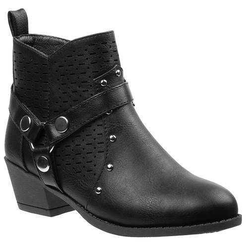 KensieGirl Ankle Heel Boot 903M (Girls' Toddler-Youth)