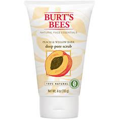 Burt's Bees Peach & Willow Deep Pore Scrub