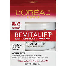 L'Oreal Revitalift Face and Neck Cream