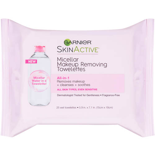 Garnier Skinactive 25-Count Micellar Makeup Remover Towelettes