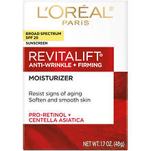 L'Oreal Revitalift Anti-Wrinkle Firming Complete SPF 25 Cream