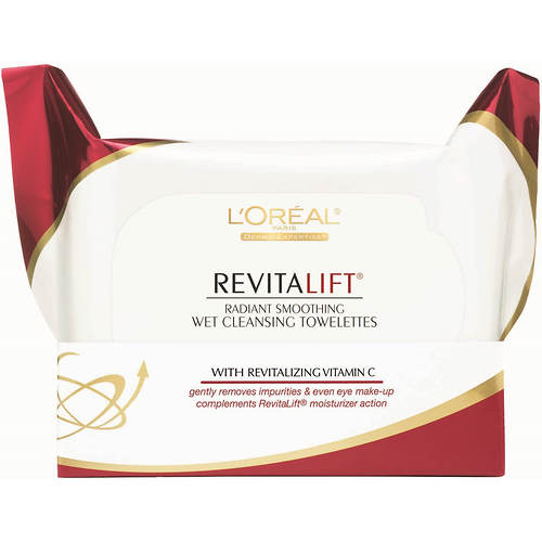 L'Oreal Revitalift 30-Count Makeup Removing Cleansing Towelettes