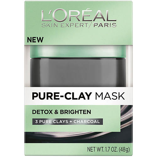 L'Oreal Pure Clay Detox and Brighten Face Mask