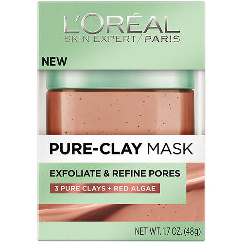 L'Oreal Pure Clay Exfoliate and Refining Face Mask