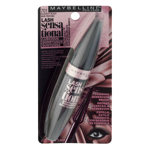 Maybelline Lash Sensational Washable Luscious Mascara