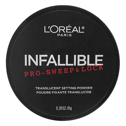 L'Oreal Infallible Pro-Sweep and Lock Loose Setting Face Powder