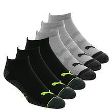 PUMA Men's P114381 Low Cut 6 Pack Socks