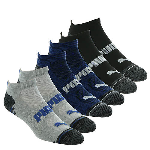 PUMA Men's P114392 Low Cut 6 Pack Socks