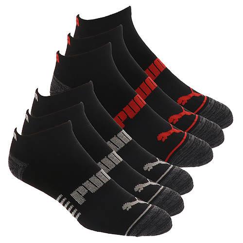 PUMA Men's P114374 Low Cut 6 Pack Socks