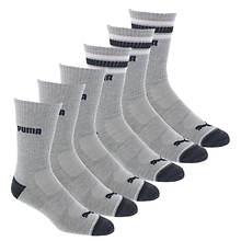 PUMA Men's P113428 Crew 6 Pack Socks