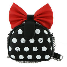 Loungefly Minnie Mouse Big Red Bow Crossbody Bag