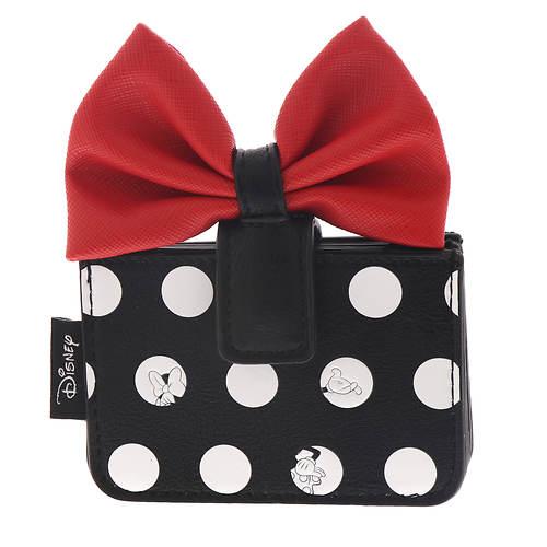 Loungefly Minnie Polka Big Red Bow Cardholder