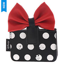 Loungefly Minnie Polka Big Red Bow Cardholder