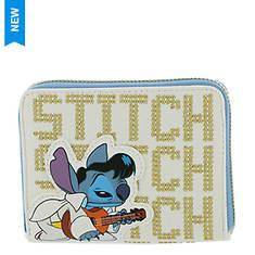 Loungefly Elvis Stitch Cosplay Zip-Around Wallet