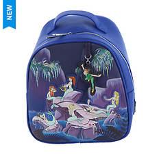 Loungefly Peter Pan Mermaids Mini Backpack