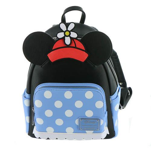 Loungefly Positively Minnie Polka Dot Mini Backpack