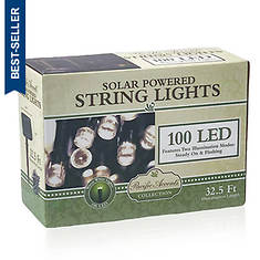 Pacific Accents 100 LED Warm Solar String Lights