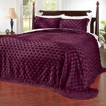 Cotton Dot Chenille Bedspread