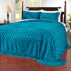 Cotton Dot Chenille Bedspread