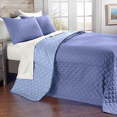 Reversible Microfiber Bedspread Set