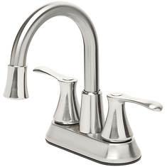 LED Brushed Nickel Bath Faucet