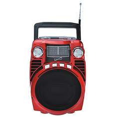 SuperSonic Portable Radio with Bluetooth®