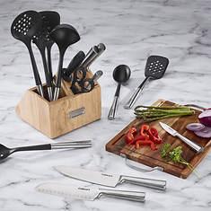 Cuisinart 16-pc. Cutlery & Tool Block Set