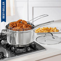 Oster 4.8-qt Stovetop Deep Fryer Set