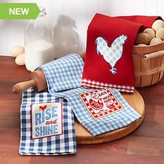 3-pc Rise & Shine Towel Set