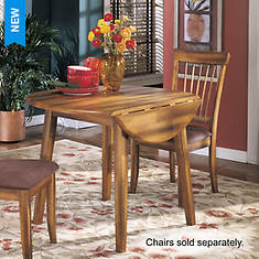 Signature Design By Ashley Berringer Round Drop-Leaf Table