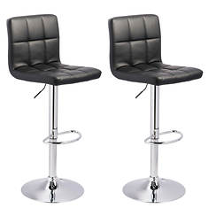 Signature Design By Ashley Bellatier Swivel Bar Stools (2 Pack)