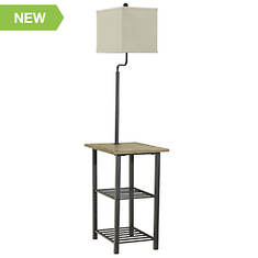Signature Design By Ashley Metal Tray Floor Lamp