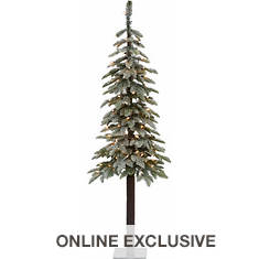 Fraser Hill 5' Woodland Pine Tree with Lights