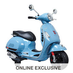 12V Vespa GTS Super Sport Battery-Operated Ride-On