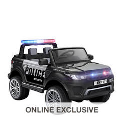 12V Battery-Operated Police Vehicle