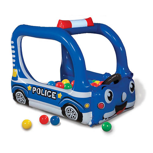 Police Patrol Inflatable Ball Pit