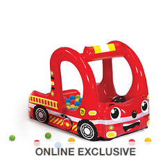 Rescue Truck Inflatable Ball Pit