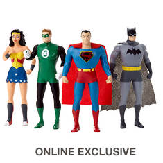 DC Comics Justice League 4-Piece Figures Set