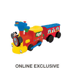 Mickey Mouse 2-in-1 Ride-on Train