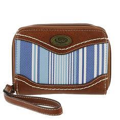 BOC Madison Stripe Double Zip Wallet